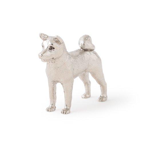 Akita dog dog figure made in UK (japan import)