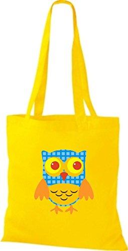 Mujer Amarillo Algodón Bolso De Tela Shirtinstyle Para q1B7pww