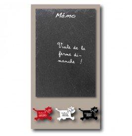 Tableau mémo ardoise Vache Bruit de Cadre: Amazon.fr ...