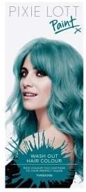 Pixie Lott - Pintura para el pelo, color turquesa: Amazon.es ...