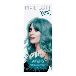 pixie lott paint wash out hair colour turquoise amazon co uk beauty