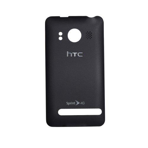 HTC OEM BLACK EVO 4G BATTERY DOOR COVER ()