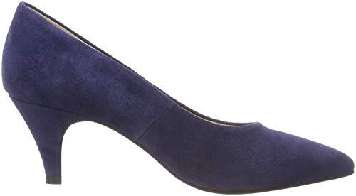 60 Femme Bout Pump 301 Escarpins Blue Bianco Classic Fermé Bleu Navy qHOSAxF