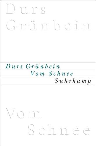 Vom Schnee oder Descartes in Deutschland