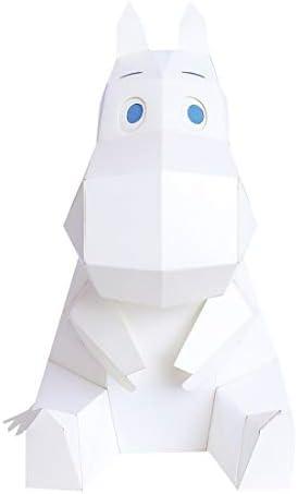 ペーパークラフト おうち時間 子供 工作 MOOMIN 工作キット KAKUKAKU カクカク インテリア 置物 小 おもちゃ 図工 工作 自由研究 キット 大人