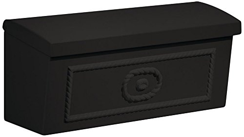 Salsbury Industries 4560BLK Townhouse Surface Mounted Mailbox, Black by Salsbury Industries (Image #2)
