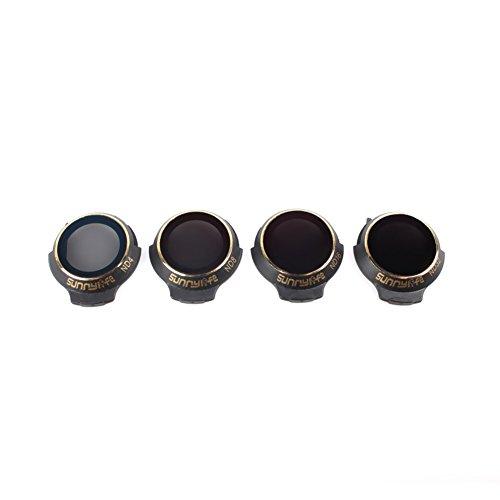 Filter Kit MCUV CPL ND4 ND8 ND16 ND32 for DJI MAVIC PRO PLATINUM & WHITE Lens/Camera Filter (Frame Platinum Mirror Lens)