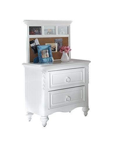 Pulaski Princess Youth Nightstand with Back Panel