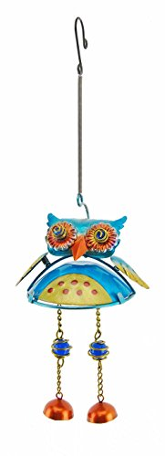 Creative Motion Chime with Owl Design and Spring, Large