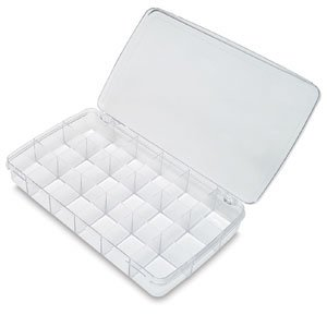 Artbin Prism Box 18 Compartments-11.5x6.625x1.75 Transparent