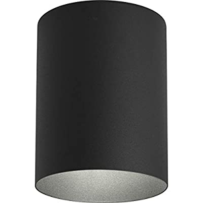 Progress Lighting P5774-Flush Mount Cylinder with Heavy Duty Aluminum Construction Powder Coated Finish and UL Listed for Wet Locations