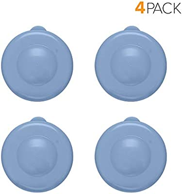 4 Pack 55mm Snap On Cap for Crown top lids for 3 /& 5 Gallon Water Bottles Brio Dew Cap Crown Top Replacement Cap