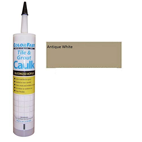 Hydroment Color Matched Caulk by Colorfast (Sanded) (H135 Antique White)