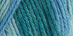 Caron Bulk Buy Simply Soft Ombres Yarn (3-Pack) Teal Zeal 294008-8701