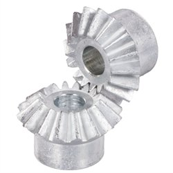 Diecast Catalog - Bevel gear made of die-cast zinc ZnAl4Cu1 module 1.0 16 teeth i=1:1 ====================================================== In catalog 40-1 there are mistakes at S, b, B and E. b=4.5mm, B=6mm, E=17.7mm, S=10.5mm ======================================================