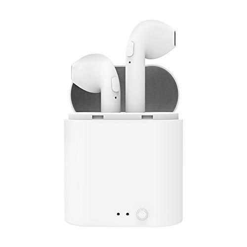 ZERA - True Wireless Earphone Bluetooth 5.0 - Premium Sound Earphone - Wireless Earphone Bluetooth with Charging Case - Stereo Headphones in-Ear Built-in Mic Headset - Bluetooth Earphone for Sports