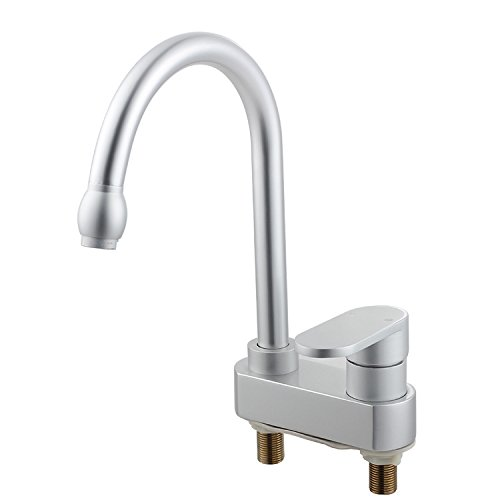 Furesnts Modern home kitchen and Bathroom Sink Taps Space Aluminum Hot/Cold Running Water Kitchen Faucet Basin Mixer,(Standard G 1/2 universal hose ports) by Furesnts Faucet (Image #1)