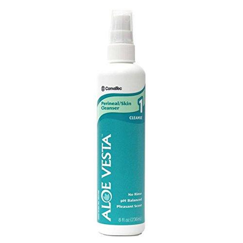 ConvaTec 324709 Units Per Case 48 Aloe Vesta Perineal Skin Cleanser 8 oz bottlelemon scent ConvaTec 324709