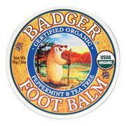 Badger - Organic Peppermint and Tea Tree Foot Balm - 2 oz.
