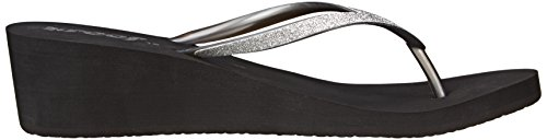 Krystal Argent Star femme Silver Reef Tongs Black I4dqI0