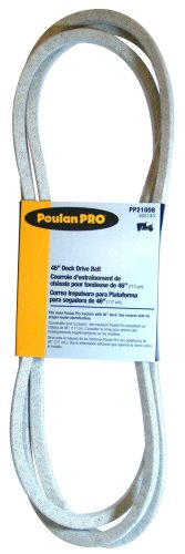 Poulan Pro 46-Inch Manual Clutch 2007 and Newer Deck Mower Belt PP21008