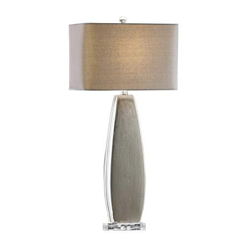 (Uttermost Michalla Worn Charcoal Ceramic Table Lamp)