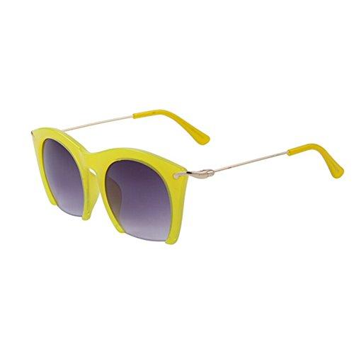 Fashion Women Cat Eye Sunglasses Classic Retro Semi-rimless Designer Brand Sunglasses - Glasses Lil Jon