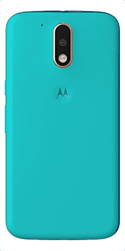 brand new 6d1bd 099db Red Qube Battery Back Panel Shell Cover for Moto G4 Plus (Turquoise Blue)