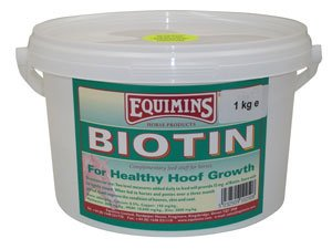Equimins Horse Supplement Biotin Tub 1kg by Equimins