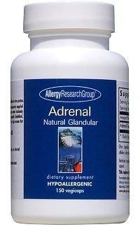Adrenal Natural Glandular 100 Milligrams 150 Veg