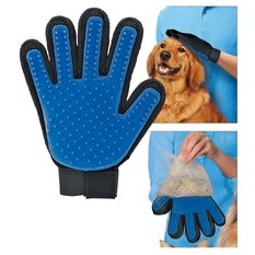 [New Product Silicone True Touch Glove Deshedding Gentle Efficient Pet Grooming Dogs Bath Pet Supplies] (Megaman Halloween Costume)