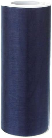 Homeford FEVETLL002LB 25 yd Organza Spool Roll 6 Light Blue