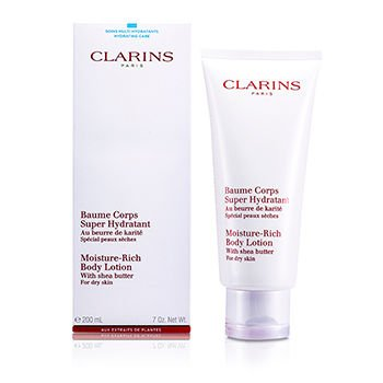 Personal Care - Clarins - Moisture Rich Body Lotion with She