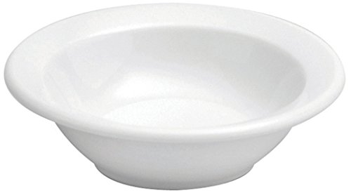 Oneida Foodservice F8000000710 Narrow Rim Fruit Bowl, 4.5 Oz, Set of 36, Bright White (Rim Porcelain Dinnerware)