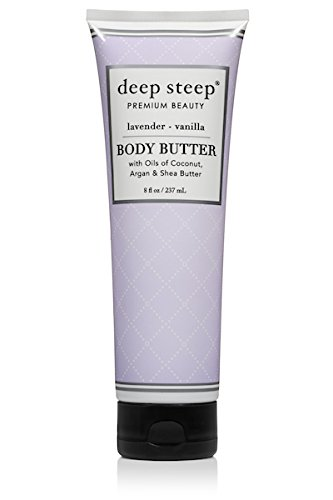 - Deep Steep Body Butter (Lavender Vanilla, 8 Ounce)