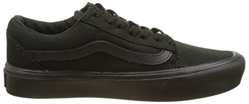 Vans Negro Lite Skool Adulto Canvas Unisex Zapatillas Old rHr6wq4