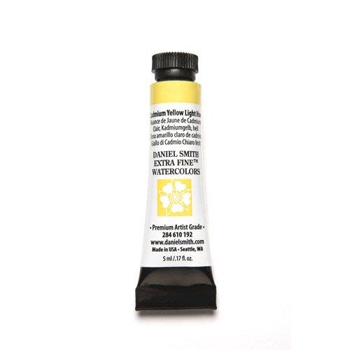 DANIEL SMITH 284610192 Extra Fine Watercolors Tube, 5ml, Cadmium Yellow Light Hue