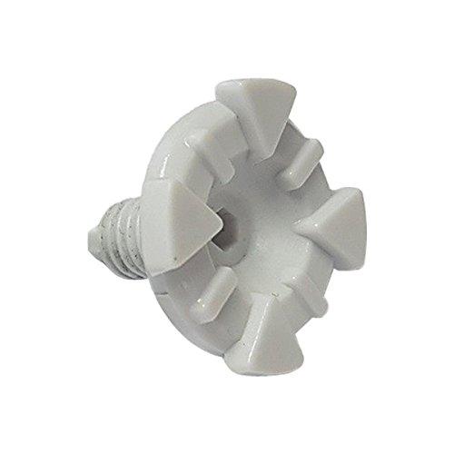 Leatt Visor Screw Kit Adult Motorcycle Helmet Accessories - White / One Size (Screw Visor)
