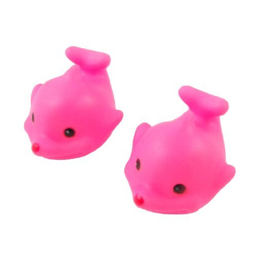DealMux 20 piezas de plástico que flota acuario Peces ornamento, magenta: Amazon.es: Productos para mascotas