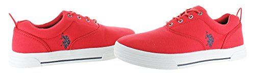 Casual S Assn Polo Lace Men's in Nylon Red Fashion up Boat U Skip Sneakers Shoes 8EdnCwp8q