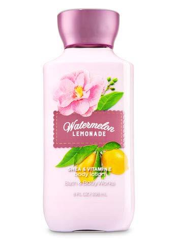Girls Lotion - Bath & Body Works Shea & Vitamin E Lotion Watermelon Lemonade