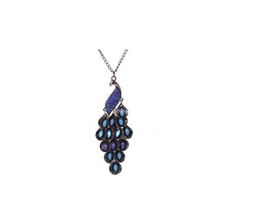 Beaute Galleria Peacock Fashion necklace