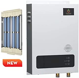 Sio Green SIO18 Commercial – 220v 80A 18kW – Infrared Electric Tankless Water Heater – Instant Hot Water Heater – Corrosion Free – Free Maintenance