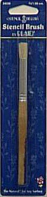 Plaid Stencil Brush 3/8 '' by Plaid Enterprises, Inc.