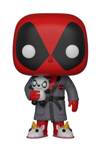Funko POP! Marvel: Deadpool Playtime - Deadpool in Robe]()