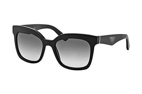 Prada Women's SPR 24Q Sunglasses, Black by Prada