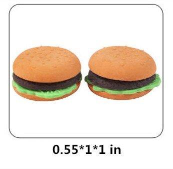 LoveInUSA Junk Food Theme Erasers Simulated Fast Food Rubber Set of 5,Cola Random Color by LoveInUSA (Image #2)