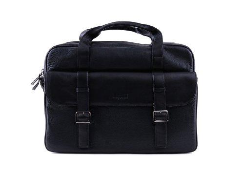 Bugatti Nevada 16'' Briefcase with laptop compartment 49524501-schwarz