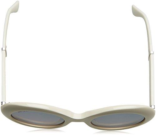 Multicolor Jimmy Glttrwht Wht S Gafas Mujer Choo para Sol Wendy de CCqP8wHn