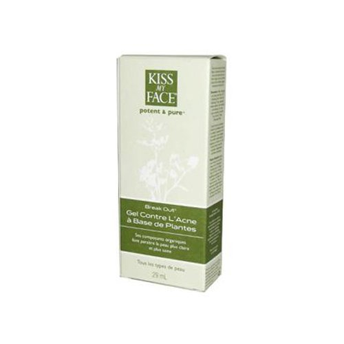 Kiss My Face Break Out Botanical Acne Gel For All Skin Types, 29ml by Kiss My Face